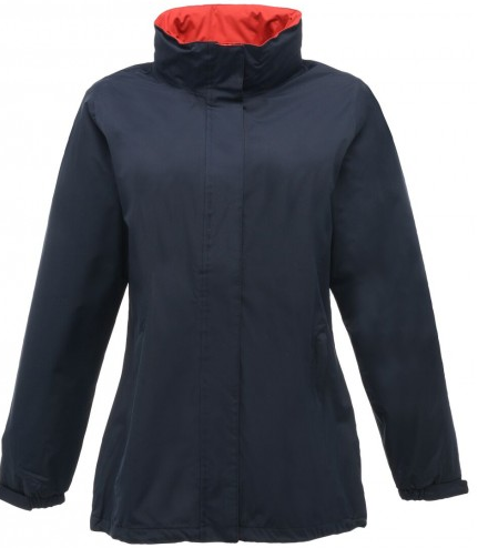 black red ladies fit jacket - Size 12