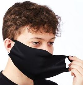Face Masks Scuba fabric: 95% Polyester, 5% Elastane 4-way stretch breathable fabric (2)