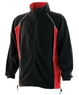 Piped microfleece jacket - Small
